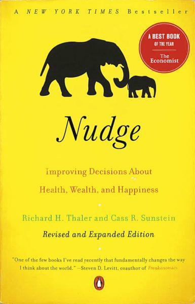 Omslaget till boken Nudge.